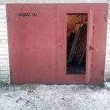 Ворота в гараж, сталь 3 мм