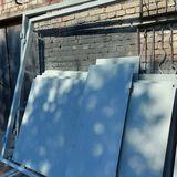 Ворота в гараж от компании Ремстройторг, сталь 3 мм.
