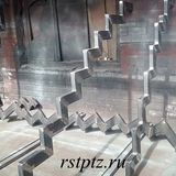 Косоуры металлической лестницы