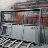 Стальная дверь в трансформаторную подстанцию