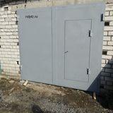 Ворота в гараж, сталь 3 мм, Петроазводск