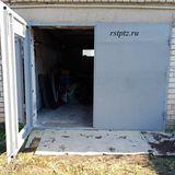 Распашные ворота в гараж от компании Ремстройторг
