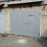 Ворота в гараж и козырёк