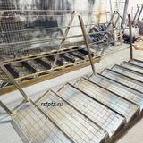 Лестница с перилами. Петрозаводск.