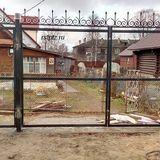 Ворота на участок, Петрозаводск