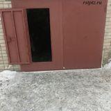Ворота металлические в гараж от компании Ремстройторг