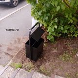 Урна металлическая под мусор