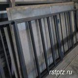 Ворота распашные из профильных труб