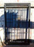 Решётчатая дверь, калитка, обвязка 40*40, внутренний набор 40*20