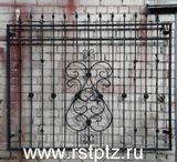 ворота, заборы, варианты эскизов