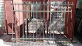 Забор металлический, ограждение