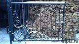 Образец ворот загородного дома