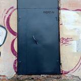 Дверь с фрамугой, сталь 2 мм