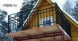 Балконное ограждение, от 1000 за м/п