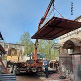 Гаражные ворота, сталь 3 мм, от компании Ремстройторг г. Петрозаводск.
