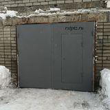 Ворота в гараж от производителя. Сталь 3 мм. Петрозаводск. Карелия.
