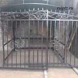 Ворота на участок от Компании РСТ. Петрозаводск. Карелия.