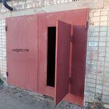 Гаражные ворота, сталь 3 мм. Петрозаводск.