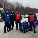 На гонке по земле Сампо, с организатором соревнований Виктором Симоновым