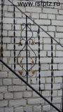 Перила металлические от 3500 за м. п.