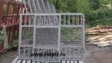 Ворота дачные с калиткой 20000 р