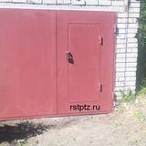 Гаражные ворота, сталь 3 мм