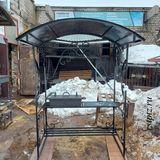Мангал с крышей от компании Ремстройторг