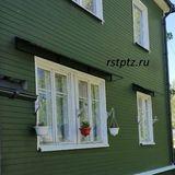 Козырёк над окном. Петрозаводск.