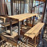 Детская скамейка - столик