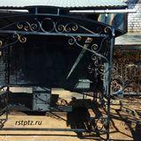 Беседка - мангал, производство беседок в Петрозаводске.