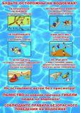 Будьте осторожны на водоёмах.