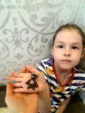 """Ульяна Ляшенко, 5 лет. """"Мой медвежонок грустный"""""""