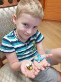 Саша Ковтунов, 5 лет. Я буду путешествовать на самолёте