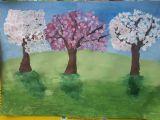 Серёжа Козловцев, 7 лет. Цветущий сад
