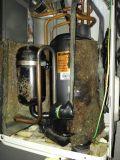 Обгоревшая теплоизоляция компрессора - признак постоянного перегрева и неправильной работы.