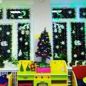 Новогодний дизайн детского сада