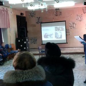 Музыкально-литературная композиция «Песни с которыми мы победили» в Чаусовском СДК