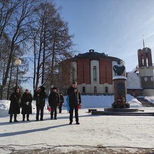 """Всероссийская акция"""" Защитим память героев"""" была проведена в городе Жукове"""