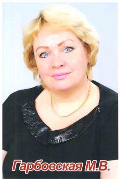 Гарбовская Марина Викторовна