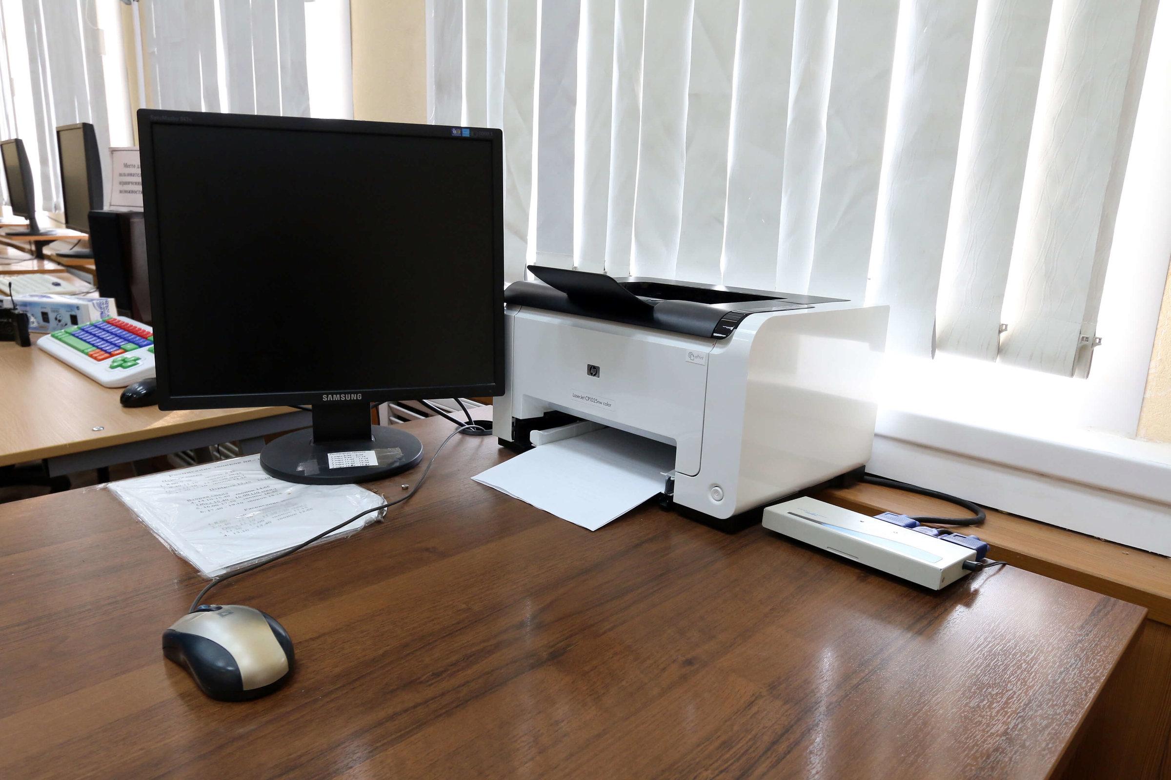 Оборудованный кабинет