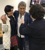 Toto Cutugno and his manager Danilo, 19.01.18