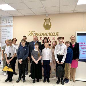В  Жуковской детской школе искусств №1 продолжает работу  Первая  летняя творческая школа.