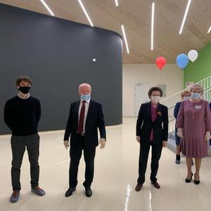 Наталье Комаровой презентовали новый детский сад