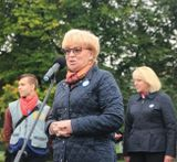 У микрофона Елена Кириленко