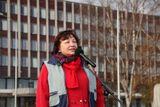 Е.И. Аксентьева, Заместитель Секретаря Общественной палаты РК с приветственным словом
