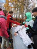 Волонтёры  Всероссийского общественного движения «Волонтёры-медики» обучают оказанию медицинской помощи в чрезвычайных ситуациях
