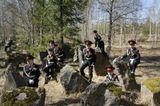 Московские кадеты на линии