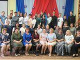 Коллектив учителей и старшеклассников на совместном совете 2019 год