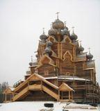 Воссоздание Покровской церкви из с. Анхимова в Невском лесопарке
