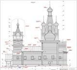 Одигитриевская церковь в с. Кимжа проект реставрации